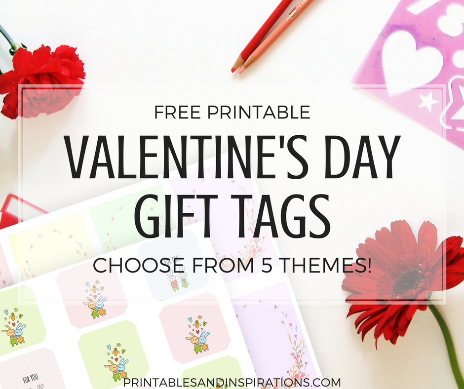 Free printable valentines day gift tags cute designs for Best gift of valentine day