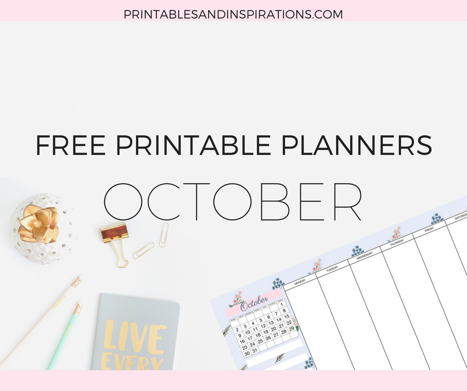 Free printable planners, calendar, weekly planner, habit tracker, daily journal