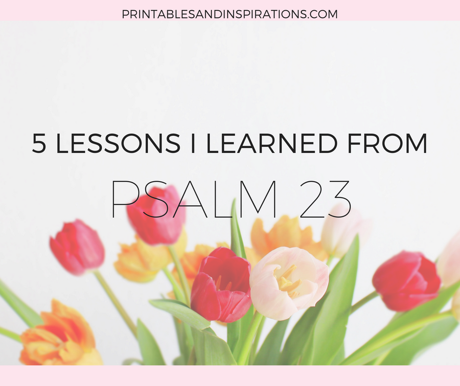 psalm 23 lessons, bible study, inspiration, bible verse