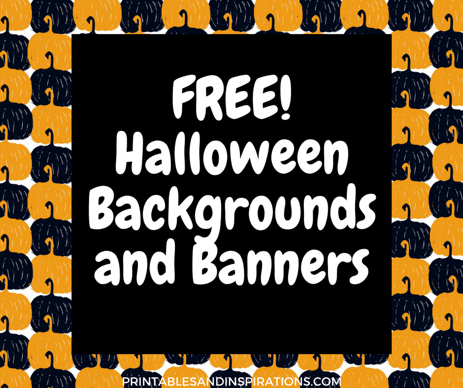 graphic relating to Printable Halloween Banners called Free of charge Halloween Record And Banners - Printables and