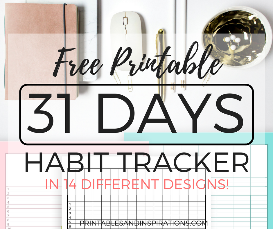 graphic regarding Habit Tracker Free Printable named Pattern Tracker Absolutely free Printable Worksheets For All people